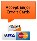 The Car Doctor Mobile Mechanic - We Accept Major Credit Cards, Visa, Mastercard and Discover Card